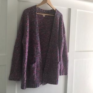 I nice cozy over sized colorful Mossimo sweater.